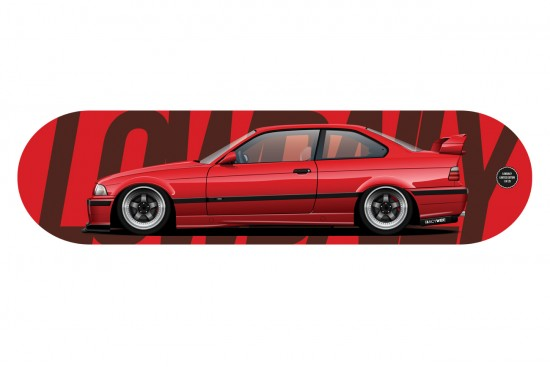 BMW E36 Доска LIMITED SOLDOUT